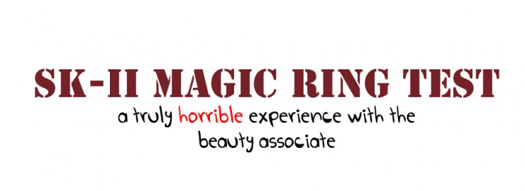 SK-II Magic Ring review